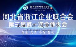 河北省浙江企业联合会召开第三届第一次会员大会